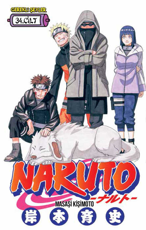 Gerekli Şeyler - Naruto Cilt 34