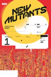 Marvel - New Mutants # 1 Design Variant