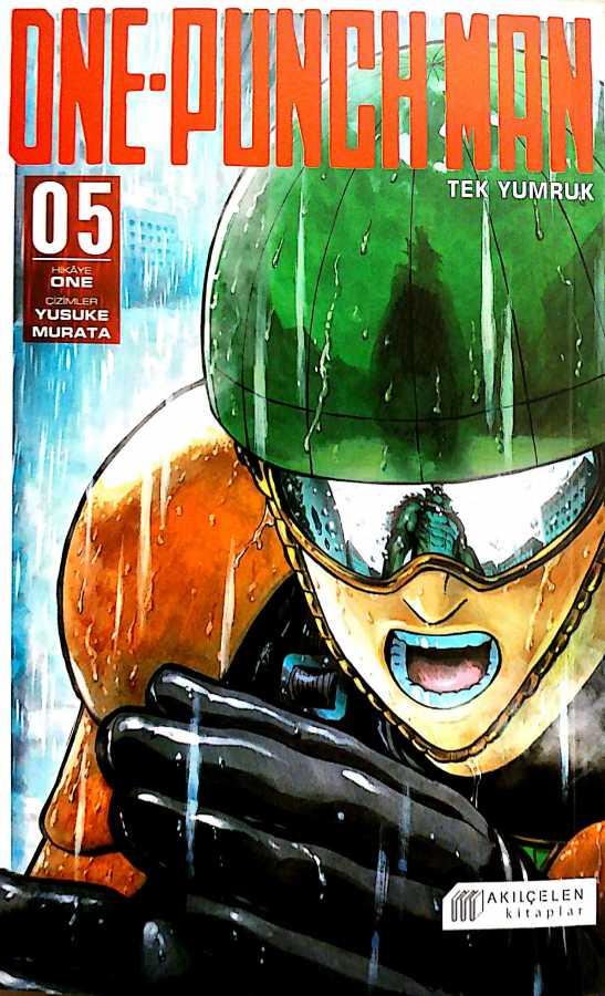 Akılçelen - One Punch Man - Tek Yumruk Cilt 5