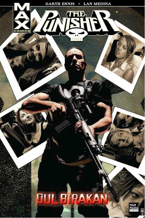 Marmara Çizgi - Punisher Max Cilt 8 Dul Bırakan