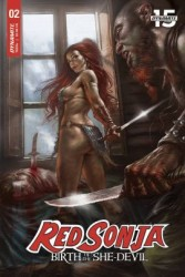 Dynamite - Red Sonja Birth Of The She-Devil # 2 Parillo Cover