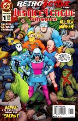 DC - Retroactive Justice League America 1990s # 1
