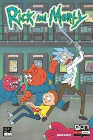 Marmara Çizgi - Rick and Morty Sayı 1