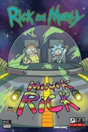 Marmara Çizgi - Rick and Morty Sayı 25