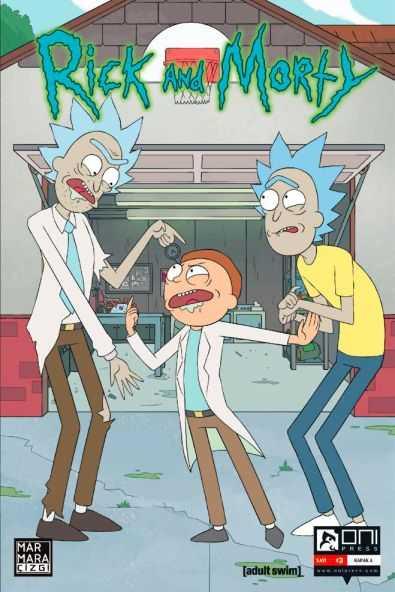 Marmara Çizgi - Rick and Morty Sayı 3 A Kapak