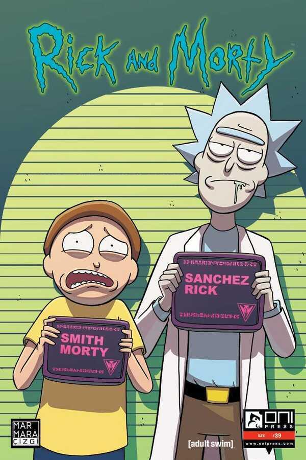 Marmara Çizgi - Rick and Morty Sayı 39