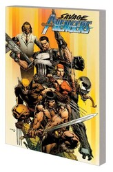 Marvel - Savage Avengers Vol 1 City of Sickers TPB