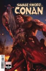 Marvel - Savage Sword Of Conan # 1 Rahzzah Variant