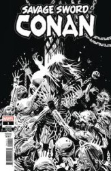 Marvel - Savage Sword Of Conan # 1 Garney B & W Variant