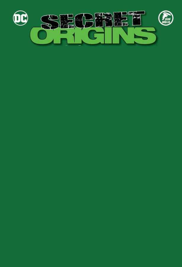 Çizgi Düşler - Secret Origins - Gizli Kökenler - Green Lantern - Batwoman - Red Robin Yeşil Blank