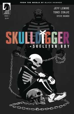 Dark Horse - Skulldigger & Skeleton Boy From World Of Black Hammer # 1