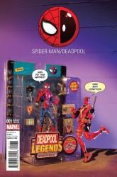Marvel - Spider-Man Deadpool # 1 Action Figure Photo Variant