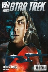 Presstij - Star Trek Sayı 6 A Kapak