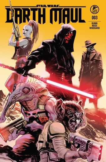 Çizgi Düşler - Star Wars Darth Maul Sayı 3