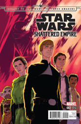 Marvel - Star Wars Shattered Empire # 2 Anka Variant
