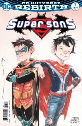 DC - Super Sons # 1 Variant