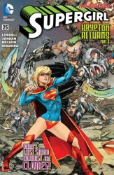 DC - Supergirl (New 52) # 25