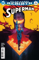 DC - Superman # 4 Variant