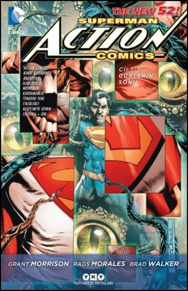 YKY - Superman Action Comics (Yeni 52) Cilt 3 Günlerin Sonu