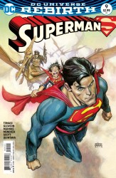 DC - Superman # 9 Variant
