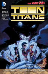 DC - Teen Titans (New 52) Vol 3 Death of The Family TPB