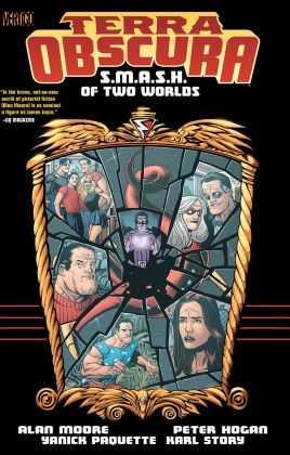 Vertigo - Terra Obscura Smash Of Two Worlds TPB