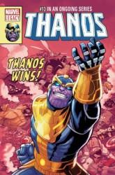 Marvel - Thanos (2016) # 13 Lenticular Variant