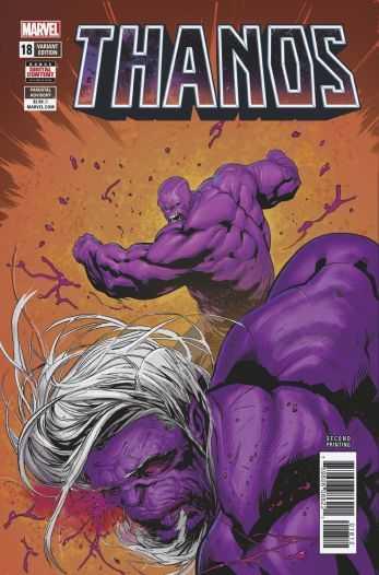 Marvel - Thanos (2016) # 18 Second Printing Variant
