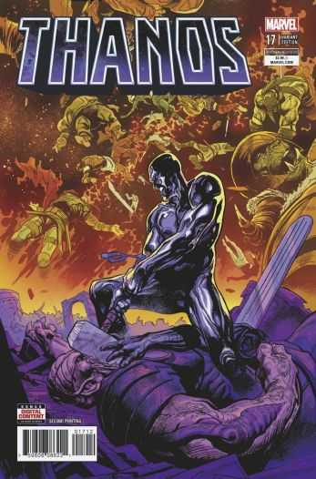 Marvel - Thanos (2016) # 17 Second Printing Variant