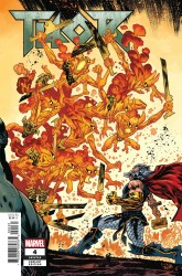 Marvel - Thor (2018) # 4 1:10 Connecting Variant