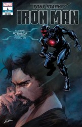 Marvel - Tony Stark Iron Man # 1 Stealth Armor Variant