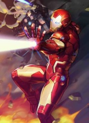 Marvel - Tony Stark Iron Man # 12 Nexon Marvel Battle Lines Variant