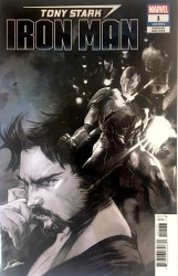 Marvel - Tony Stark Iron Man # 1 B&W Variant