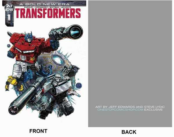 IDW - Transformers # 1 OneStopComicShop.com Exclusive