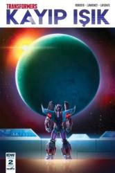 Presstij - Transformers Kayıp Işık Sayı 2 B Kapak
