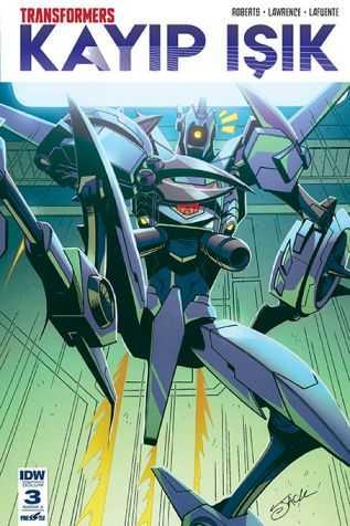 Presstij - Transformers Kayıp Işık Sayı 3 A Kapak