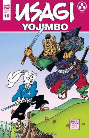 Presstij - Usagi Yojimbo Sayı 10