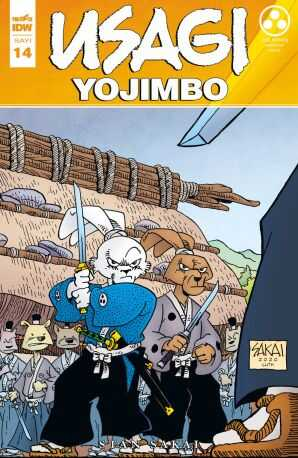 Presstij - Usagi Yojimbo Sayı 14