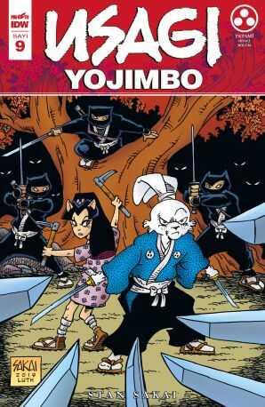 Presstij - Usagi Yojimbo Sayı 9