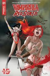 Dynamite - Vampirella Red Sonja # 1 Exclusive Paralel Evren Ergün Gündüz Variant