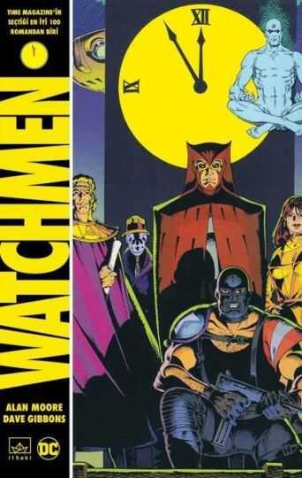 İthaki - Watchmen Sert Kapak