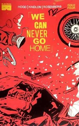 Black Mask - We Can Never Go Home # 4 Matthew Rosenberg İmzalı Sertifikalı