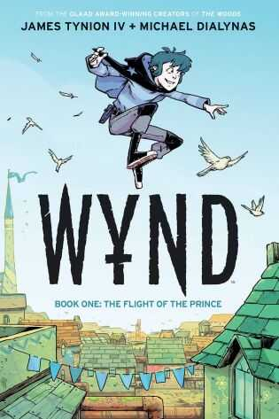 Boom! Studios - Wynd Vol 1 Flight Of The Prince TPB